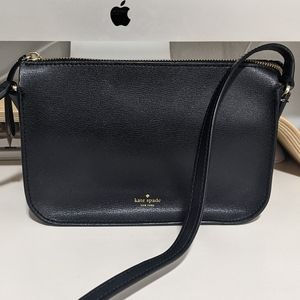 Kate Spade Holiday Lane Val Crossbody (Black)